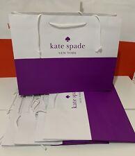 "Kate Spade Medium Shopping Paper Gift Bag 16""x 12""x 6"" Lot of 5"