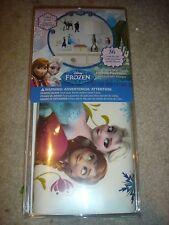 NEW Disney Frozen Anna Elsa Olaf Sven Kristoff 36 Wall decals glitter stickers
