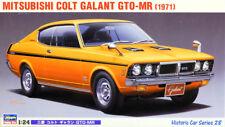 1971 Mitsubishi Colt Galant GTO-MR 1:24 Model Kit Bausatz Hasegawa 21128
