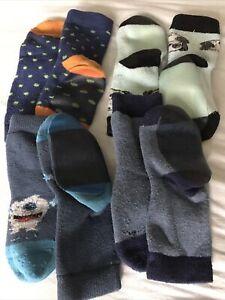 Hausschuhe, Stoppersocken, Socken mit Gummisohle, 19-23