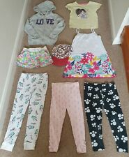 Girls age 5-6 summer clothes bundle 8 items