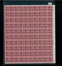 1971 United States Air Mail Postage Stamp #C79b Plate No. 34558 Mint Full Sheet