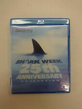 Shark Week: 25th Anniversary Collection (Blu-ray Disc, 2012), Used, Disc=NM