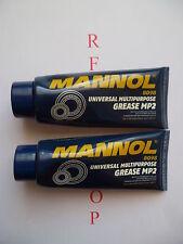 2xMANNOL 8098 MP2 Usages multiples Graisse Type universel multi-usage 100 g