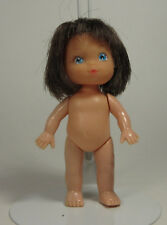 Vintage Hong Kong Mini Doll Dollhouse Durham Ind Inc 1980 Cute Brunette