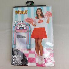 Spirit Halloween That's The Spirit Adult Cheerleader Costume - 10-14 Large #5557