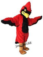 Strong Red Fierce Cardinal Mascot costumes school mascot costumes