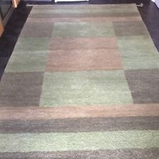 HARLEQUIN, 8' x 5', BRAND NEW, LARGE, THICK, HAND-KNOTTED, WOOL RUG...FREE DEL.