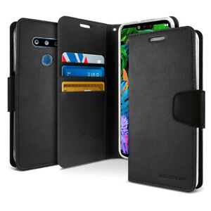 Goospery Slim flip Leather wallet Case Cover for LG G8 V50 ThinQ