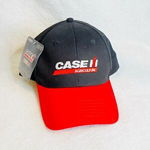 Case Agriculture Roadgear Baseball Hat Red Black NWT K-Products Headware Cap IH