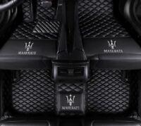 For Maserati Ghibli GranTurismo Levante Quattroporte Custom Made Car floor mats