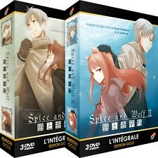 ★ Spice and Wolf ★ Intégrale 2 Saisons - Edition Gold - 2 Coffrets - 6 DVD