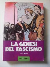 CARSTEN LA GENESI DEL FASCISMO ED. ACCADEMIA 1979