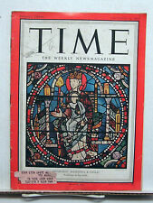 Dec 24, 1951 TIME Magazine- Chartres' Madonna & Child VG- Cover Soiled