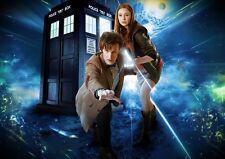 Doctor Who mini poster print  : Matt Smith poster : 11 x 17 inches