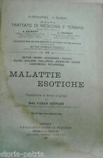 MEDICINA_MALATTIE ESOTICHE_LEBBRA_MALTESE_PESTE_COLERA_AVVELENAMENTI_TIFO_DENGUE