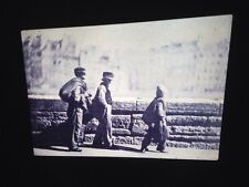 "Charles Negre ""Chimney Sweeps 1852"" 35mm Early French Photography Slide. Rare"