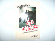 GERALD COLE SID & NANCY