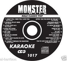 KARAOKE MONSTER HITS CD+G MALE CLASSIC POP #1017