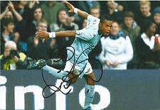 """Genuine Hand Signed Autograph Photograph MANCHESTER CITY FC Robinho 11.5 x 8"""""""