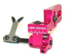 New Vapor Trail Limb Driver Pro Arrow Rest Universal Mounting Bracket RH Pink