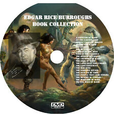 * EDGAR RICE BURROUGHS BOOKS COLLECTION  * 20 AUDIOBOOKS on DVD MP3 *