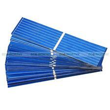 80PCS 78x19mm PV Solar Cell Sun Power for DIY 20W Watt Solar Panel Mini Toy