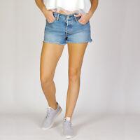 Levi's 501 Cut off shorts Sierra Oasis Damen denim Shorts Größe 27