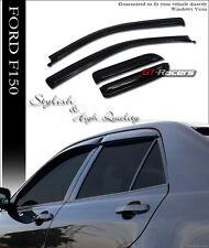 2004-2014 FORD F150 SUPER CAB SUN/RAINGUARD VENT SHADE DEFLECTORS WINDOW VISORS