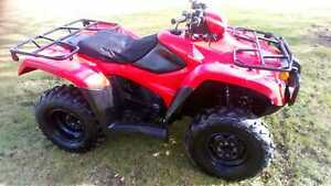 Honda quad atv 500 4x4 farm quad