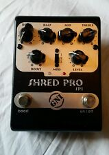 GNI Shred Pro Booster Clean Boost Distortion Overdrive Sustain
