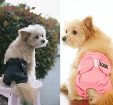 Washable Female dog diapers reusable wrap for puppy small medium dogs cat 2packs