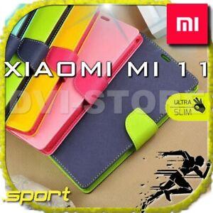 COVER per Xiaomi Mi 11 Custodia 360° SPORTIVA Libro Portafoglio Magnetica