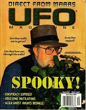 UFO Magazine April/May 2004 Conspiracy Alien Ghost Roswell