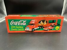 Coca Cola Holiday Classic Carrier Truck 1999 With 1953 Corvette Sealed