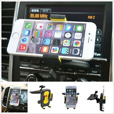 UNIVERSAL IN CAR MOBILE PHONE SAT NAV PDA GPS HOLDER WITH LOCKING CD SLOT MOUNT