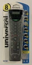 SONY RM-V60 TV VCR CD RECEIVER UNIVERSAL REMOTE CONTROL, NEW