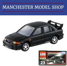 Tomica Premium 23 Mitsubishi Lancer GSR Evolution III black BOXED FACTORY SEALED