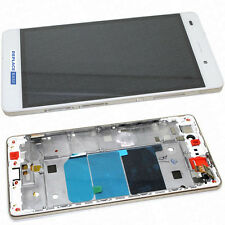 For Huawei Ascend P8 Lite Replacement LCD Touch Screen Assembly White Frame