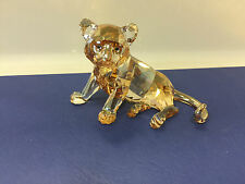 Swarovski Figurine SCS Tiger 2010 petit assis (((excellent état)))