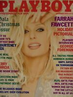 Playboy December 1995 | Farrah Fawcett Samantha Torres   #2373+