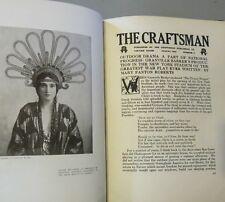 ORIGINAL Bound April-Sept 1915 THE CRAFTSMAN MAGAZINE Stickley ARTS & CRAFTS