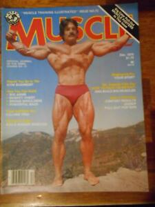 MUSCLE TRAINING ILLUSTRATED bodybuilding magazine MIKE MENTZER 12-78