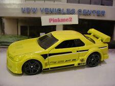 2016/2017 NIGHTBURNERZ Excl NISSAN SKYLINE GT-R (R32)☆Yellow☆LOOSE Hot Wheels