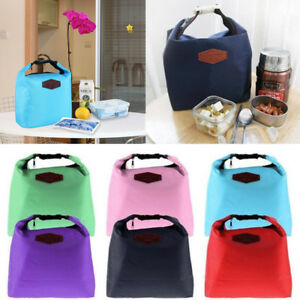 Portable Thermal Insulated Cooler Lunch Storage Bag Waterproof Picnic Carry Tote