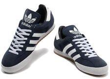 adidas Samba Super Suede Mens UK 11 EU 46 Navy Indoor Football Trainers 019332