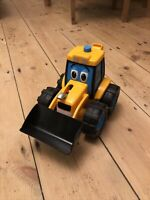 Jcb Toy Tractor Toy Excellent Condition,  Plus A Mini Rubber JCB For Free