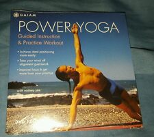 Power Yoga Guided Instruction & Practice Workout with Rodney Yee (New) DVD