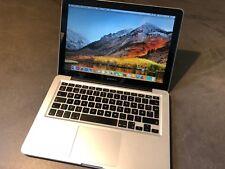 Apple MacBook Pro 13 Core i7 2.7 8gb RAM 100gb SSD High Sierra A1278