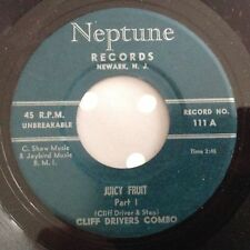 CLIFF DRIVERS COMBO-JUICY FRUIT PARTS 1&2-NEPTUNE 111. VG++